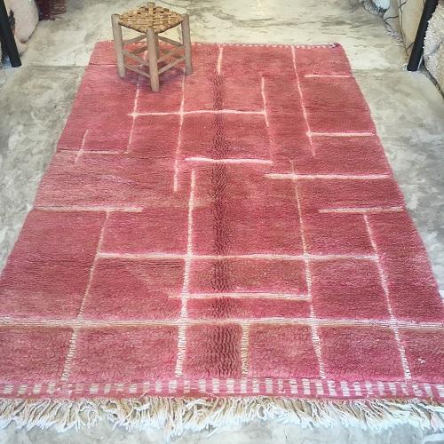 Beni ouarain n2037 - Grenadine tapis, deco, marrakech, handmade, rug, morocco