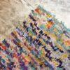 Boucherouite n°614 - Parma, tapis en coton, marocain, violet, deco, home, tapis chambre, entrée, kids room, design d'intérieur, marrakech artisanat, maroc