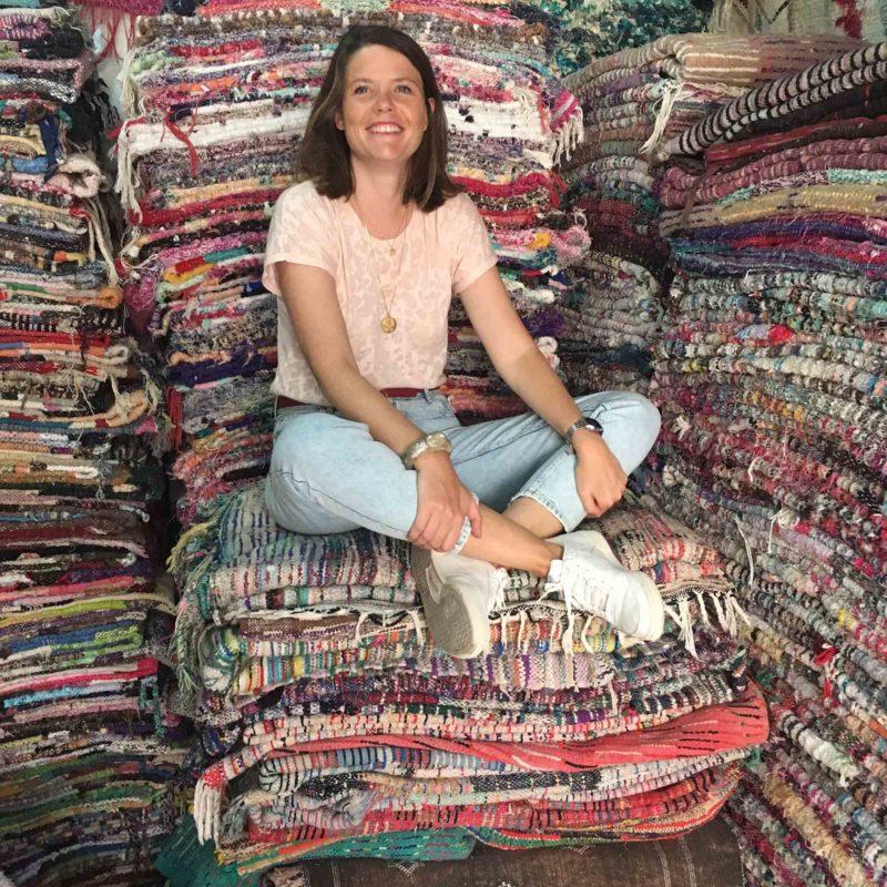 Alix MARRAKINE Tapis Marrakech Maroc