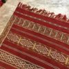 Kilim N°845 - Kasbah, tapis rouge, hand woven moroccan rug, wool, deco & home, salon classic, marrakech artisanat