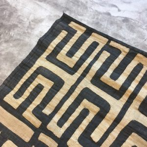 Raphia N°860 - Congo, tapis fabriqué à partir de fibre de raphia, congolais tissu, décoration mural, handmade craft, african