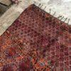 Zayane n°884 - Flamboyant, tapis marocain,multicolors, vintage handmade rug, wool, zemmour city, tapis de moyen atlas montagne, decoration, home interior design, salon marocain