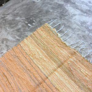 Kilim Boucherouite N°866 - Curcuma, tapis jaune, chambre, deco & home, kids rug, descentes de lit, marrakech artisanat, maroc