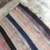 Kilim Boucherouite N°892 - Rainbow, tapis ras en coton, couverture, handmade, salon, marrakech, maroc, chambre, rug, moroccan