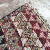 Boucherouite n°890 - Kabira, tapis berbère, chutes de coton, fabriqué artisanalement au moyen, atlas montagnes, coloré, traditional handmade, deco, home, salon moderne, crafts of morocco