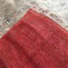 Beni Mguild n°888 - Corail, tapis en laine, rouge, couloir, tapis marocain, handmade, runner, Atlas mountains rugs, red carpet, home design, furniture, marrakech