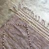 Zanafi n°935 - Dame de coeur, tapis tissé, wool, hand woven, bordeaux, deco, salon contemporain