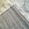 Zanafi n°946/947 - Tic & Tac, tapis en laine, tissé, noir grisée, blanc, descentes de lit, tapis marocain, entrée, handmade, Atlas mountains rugs, couloir, artisanat du marrakech