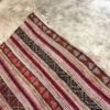 Kilim n°942 - Ksar, tapis en laine, tissé, marocain, traditionel, salon contemporain, rouge, motifs berbère, hand woven, marrakech rugs