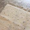 Beni Ouarain n°972 - Dalmatien, tapis marocain, laine, noué, tapis du montagnes de moyen Atlas, hand knotted, home deco, design d'intérieur, moroccan rug, white & black