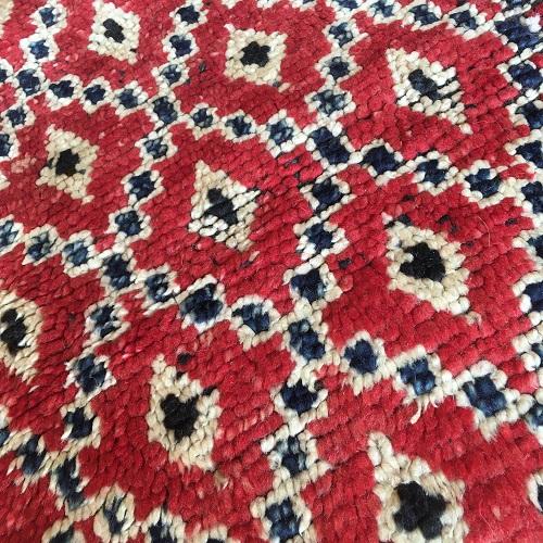 Boujaad n1031 - Coquelicot, tapis marocain,multicolors, vintage handmade rug, wool, zemmour city, tapis de moyen atlas montagne, decoration, home interior design, salon marocain