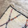 Azilal n1067 - Tattoo, tapis marocain, handwoven, coloré, sheep wool, deco, artisanat du Marrakech