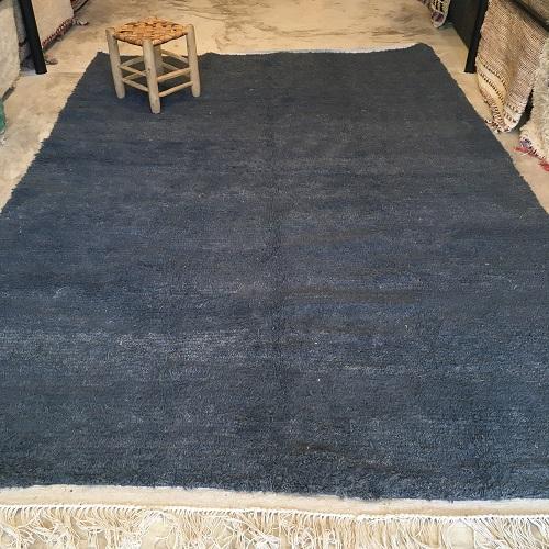 Azilal n°1092 - Jeans, tapis, modern, moyen atlas, maroc, rugs, design, denim