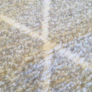 Beni Ouarain N°1122 - Sable, tapis en laine, blanc et beige, handmade in morocco, atlas mountain rugs, deco, home, salon contemporain, artisanat du marrakech