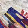 kilim boucherouite N°1124 - Pantone, tapis coton, coloré, room rug, tapis d'entrée, décor marocain, handmade rugs, marrakech