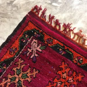 Boujaad n1123 - Coco tapis marocain,multicolors, vintage handmade rug, wool, zemmour city, tapis de moyen atlas montagne, decoration, home interior design, salon marocain