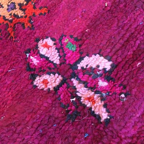 Boujaad n1123 - Coco tapis marocain,multicolors, vintage handmade rug, wool, zemmour city, tapis de moyen atlas montagne, decoration, home interior design, salon marocain