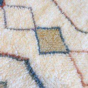 Beni ouarain n1138 - sunny, tapis, deco marrakech, design, rug, morocco