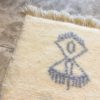 Beni ouarain n1135 - Visage pale, tapis, marrakech, rug, design, deco, morocco