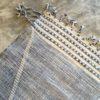 Zanafi n°1148 - Royal, tapis tissé, noie, laine, handmade, moroccan rug, furniture, deco, entrée, kids room, artisanat de marrakech, motifs blancs, design d'intérieur
