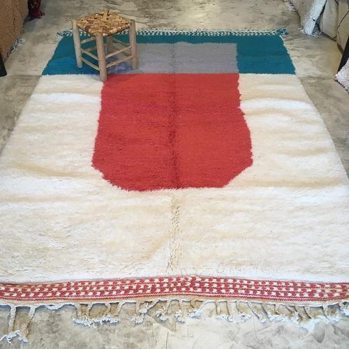 Beni ouarain n1162 - Langue de chat, tapis, deco marrakech, design, rug, morocco