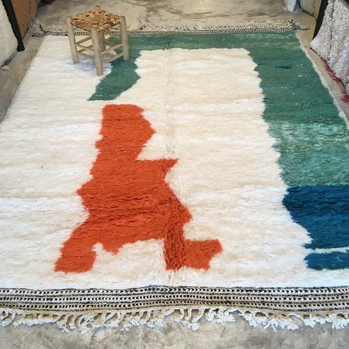 Beni ouraine n1161 - Island, tapis, morocco, deco, marrakech, rug, design