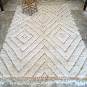 Beni ouarain n1179 - Santa Monica tapis, deco, marrakech, handmade, rug, morocco