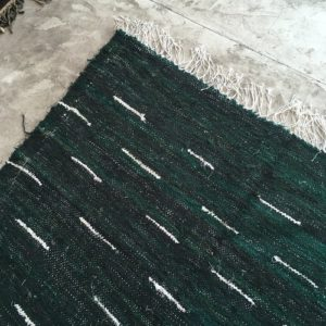 Kilim Boucherouite N°759 - Spiruline, vert, home furniture, deco & design, moroccan handicrafts, marrakech artisanat, Atlas mountain